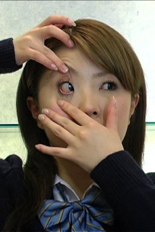リクエスト作品【美少女の【眼球観察】かわいいお目目頂きます】