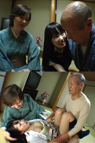 『お爺ちゃん大好きだったのに・・・』祖父母にヤラれた孫娘