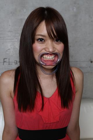 A●B優子似≪ばなな≫ちゃんの≪歯≫SD&ハイビジョン高画質