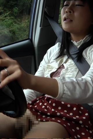 運転しながらオナニーして下さい