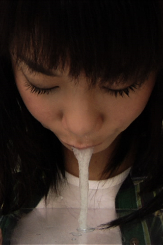 ■市井るな≪18才≫初めての鼻水口内グジュグジュ啜り出し