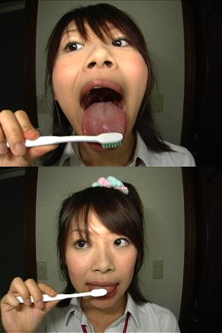 美少女3名収録!!若い【舌・歯・歯茎・涎・舌苔】見て下さい★
