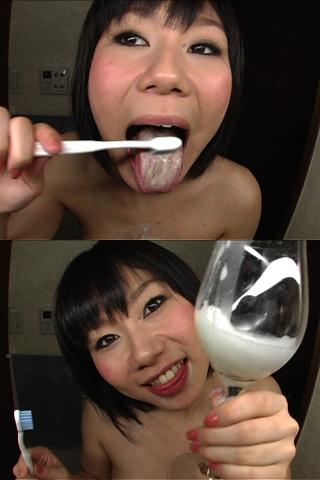 美女のベロ・歯磨き 2名分収録