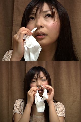 ハイビジョン【ロリ系美少女鼻穴鼻水観察】高画質