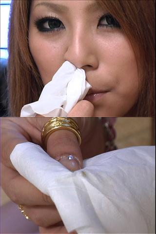 ギャルの鼻水