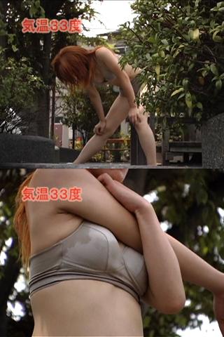 女の汗 ジョギング篇1