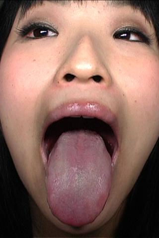 美女の歯・ベロ磨き観察 3名分 其の二